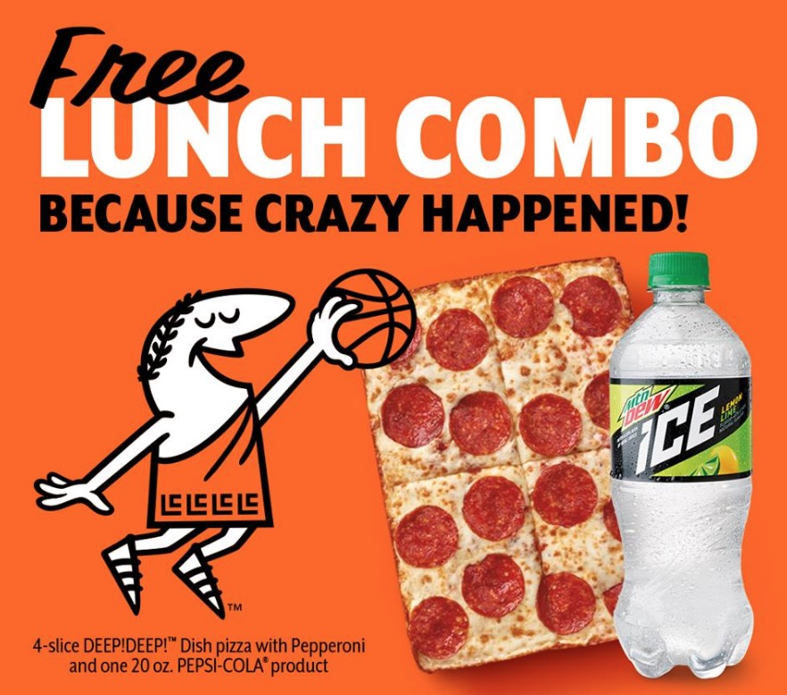 Free $5 HOT-N-READY Lunch Combos at Little Caesars (4/02)