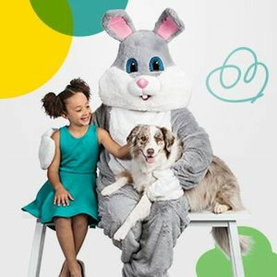Free Photo With the Easter Bunny at PetSmart