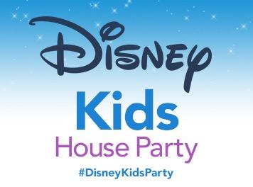 Free Disney Kids House Party Kit (Apply)