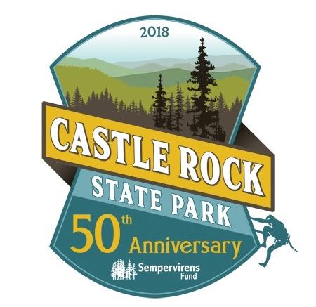 Free Castle Rock State Park 50th Anniversary Sticker