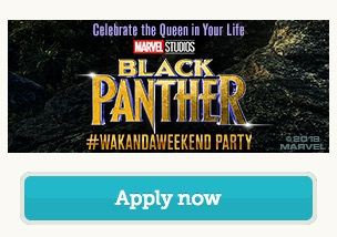 Free Black Panther #WakandaWeekend Party Pack (Apply)