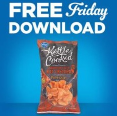 Free Bag of Kroger Brand Kettle Cooked Chips