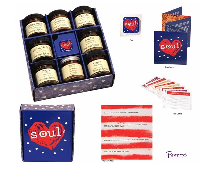 Free  Penzeys American Heart and Soul 8-Jar Gift Box ($34.95 Value!)