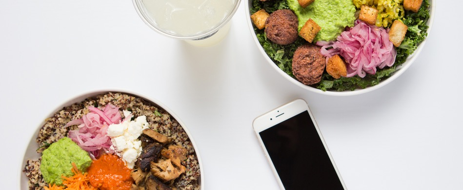 Free Pita, Salad or Bowl at Noon Mediterranean
