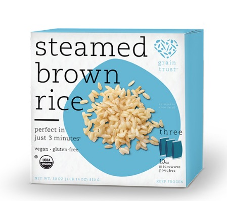Free Grain Trust Steamed Brown Rice (Apply, Mom Ambassadors)