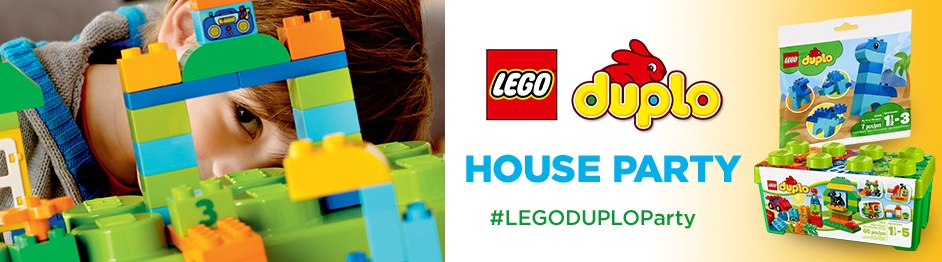 Free LEGO DUPLO House Party Pack (Apply)