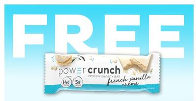 Free Power Crunch Protein Energy Bar Sample at Walmart