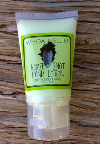 Free Whoa Nellie! Horse Snot Hand Lotion Sample