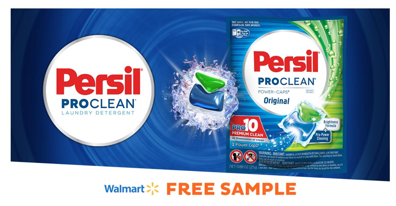 Free Persil Original Laundry Detergent Sample at Walmart
