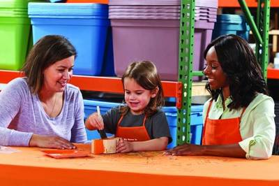 Free Classic Wooden Car Workshop for Kids at Home Depot (6/2)