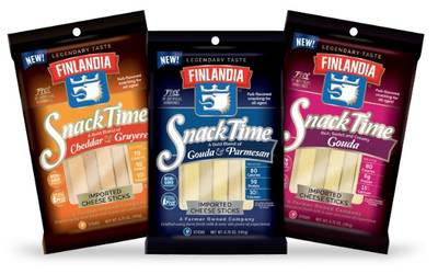 Free Finlandia SnackTime Imported Cheese Sticks (Apply, Mom Ambassadors)