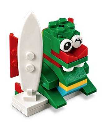 Free LEGO Surfer Dragon Model at LEGO Stores (6/5)