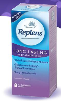 Free Sample of Replens Moisturizer