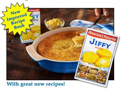 Free Jiffy's Recipe Book
