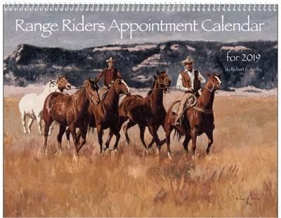 Free Range Riders Custom Calendar Sample