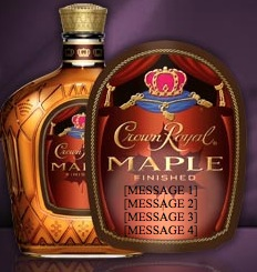 Free Crown Royal Personalized Labels