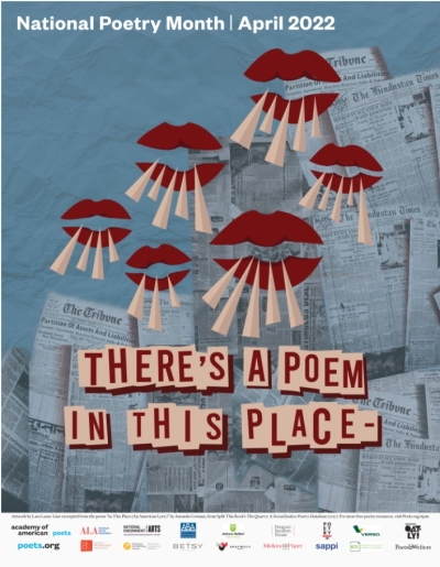 Free 2017 National Poetry Month Poster