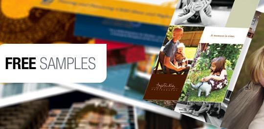 Free Modern Postcard Sample Kit