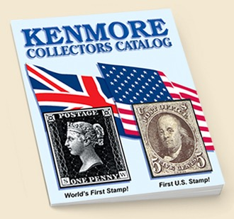 Free Stamps, Catalog and $5 Certificate from Kenmore Stamp Company