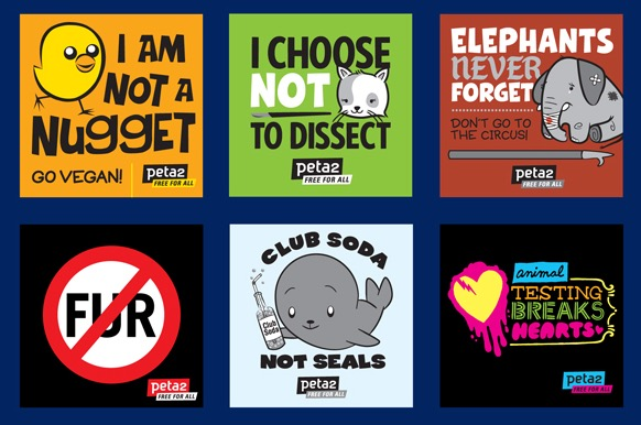 Free Sticker: I Am Not A Nugget (peta2)