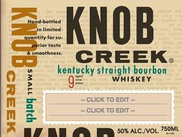 Free Custom Knob Creek Labels (21+)